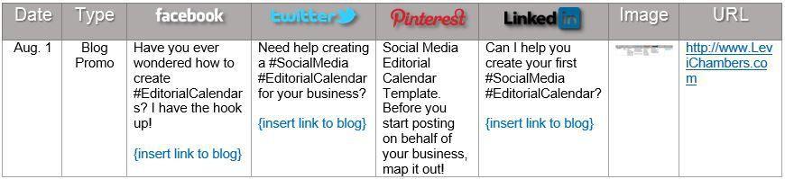 Social Media Editorial Calendar Template Social Butterfly Pinterest