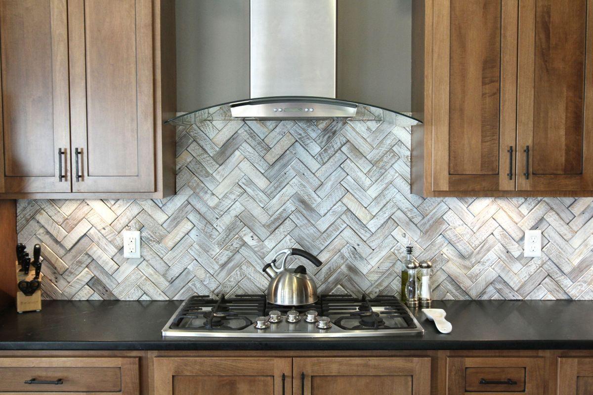 Decorative Backsplash Tile Timeless Herringbone Pattern In Home Décor  Herringbone