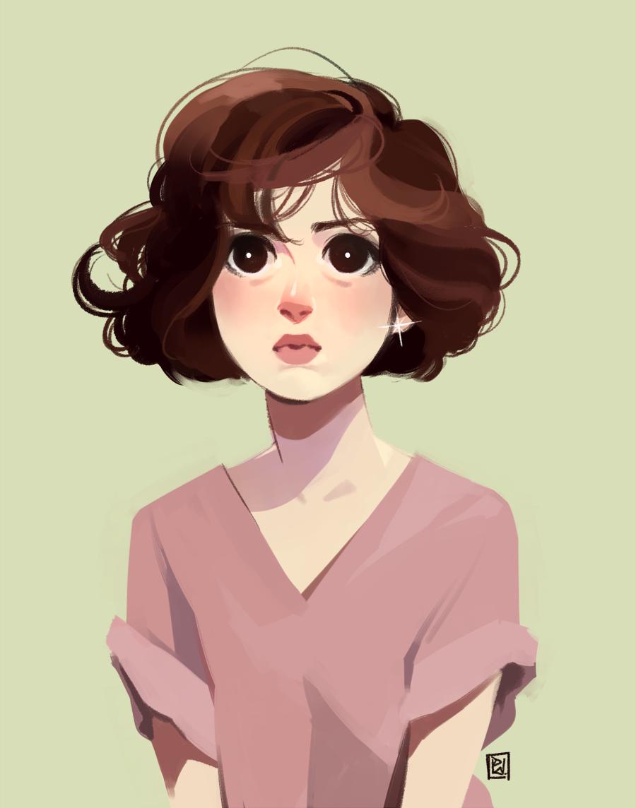Twitter » hair flow » art » drawing » inspiration