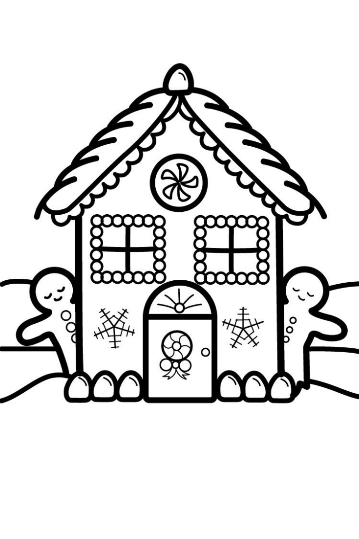 Glitter Christmas House Coloring And Drawing For Kids Toddlers Learns Colors With Ki Christmas Window Painting Christmas Tree Coloring Page Drawing For Kids