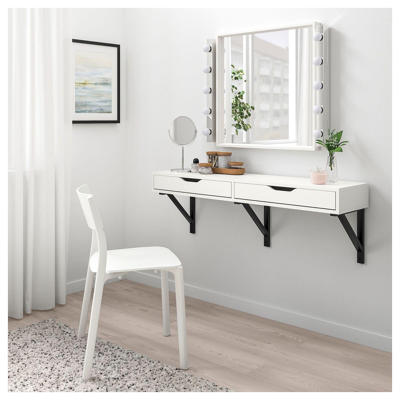 Ikea Us Furniture And Home Furnishings Wall Shelf With Drawer