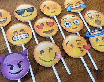 Photo props the large emoji set pieces party wedding