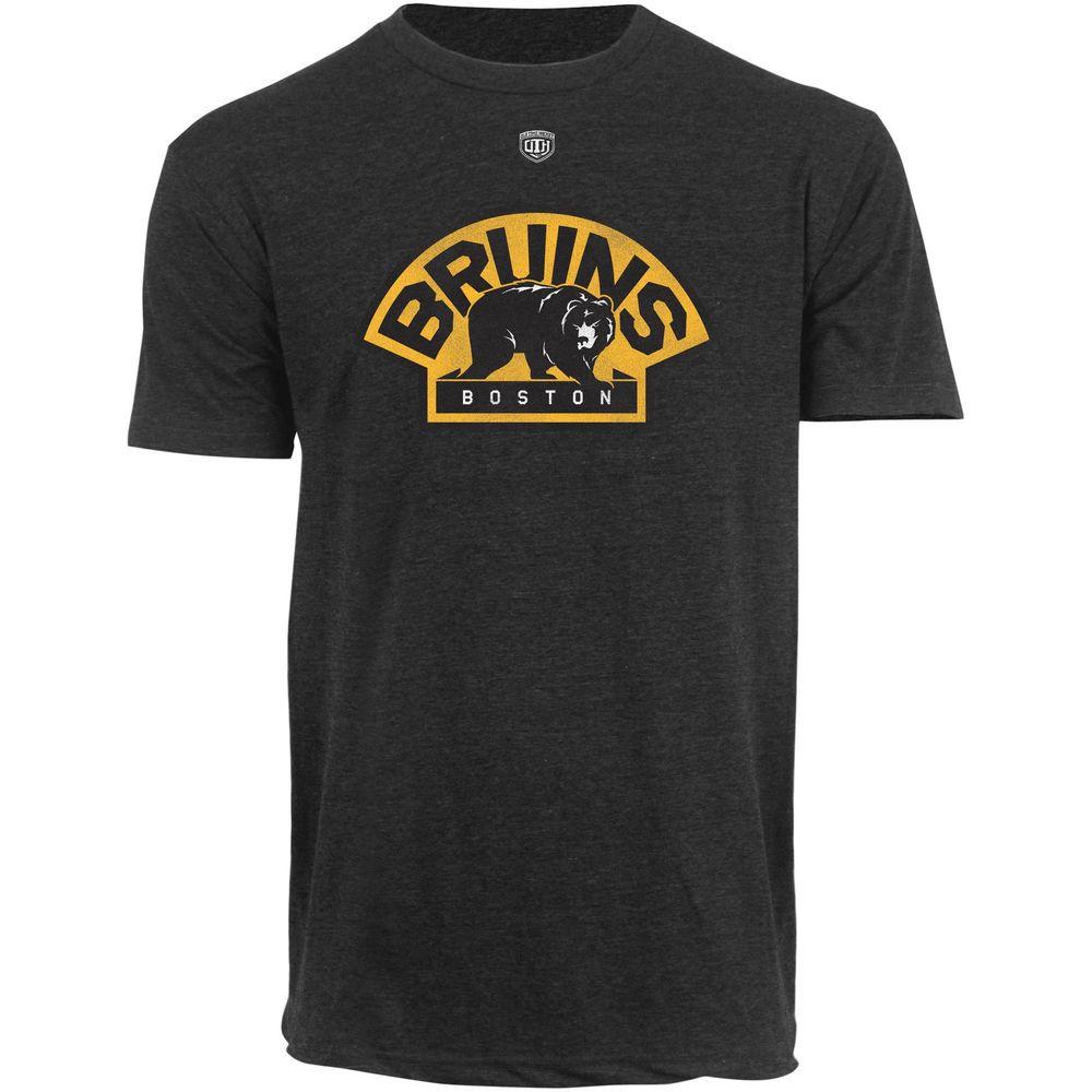 Menus boston bruins old time hockey charcoal briggs distressed
