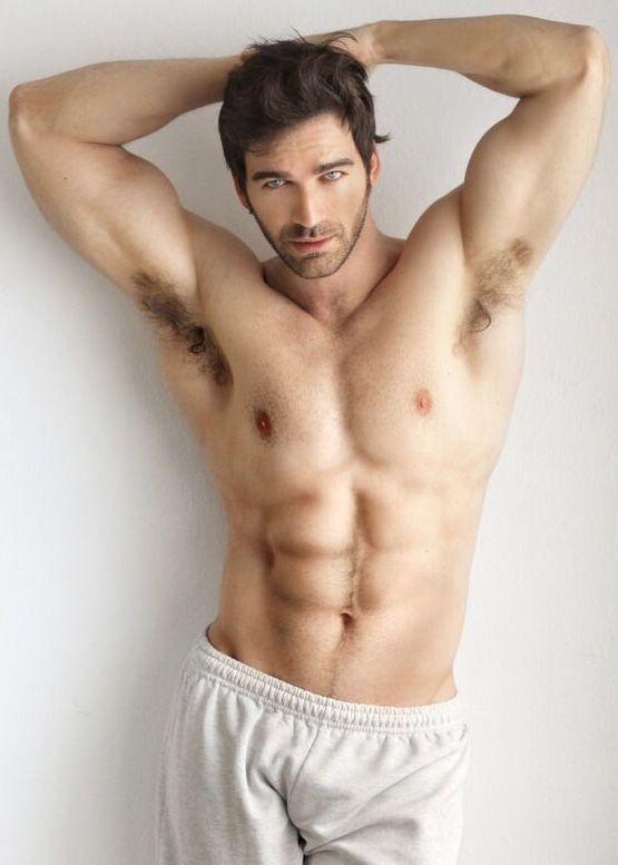 Sexy male armpit