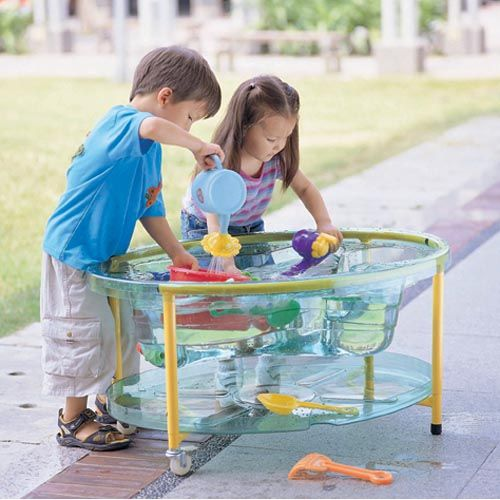 Transparent Sand and Water Table | Little Drops of Water......Make ...