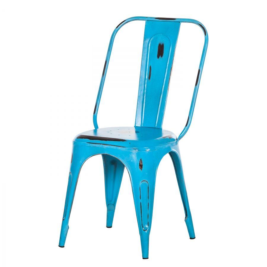 Sedia sala da pranzo Feruminia - Ferro Azzurro