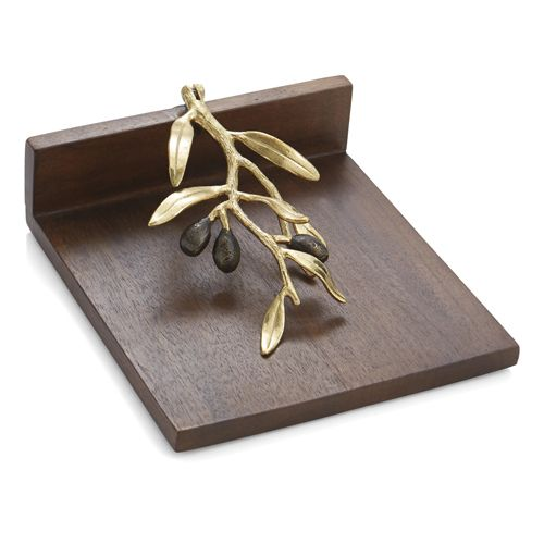 Michael Aram Olive Branch Dinner Napkin Holder With Images Napkin Holder Michael Aram Olive Branch