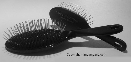 1 All Systems All Systems Grooming Ultimate Pin Brush At Www Mjmcompany Com Grooming Pet Grooming Brush