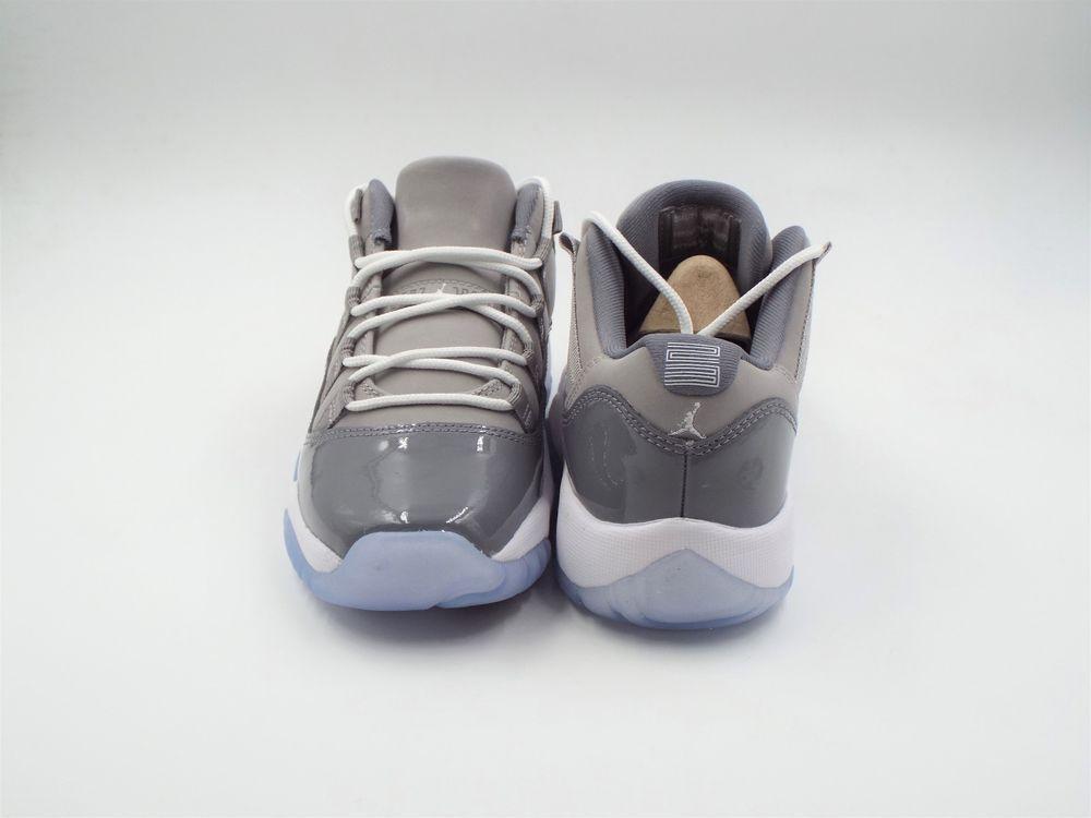 Kid s Air Jordan 11 Retro Low BG Size 3.5Y (528896 003) Grey White Gunsmoke  (eBay Link) a1f6b0c29