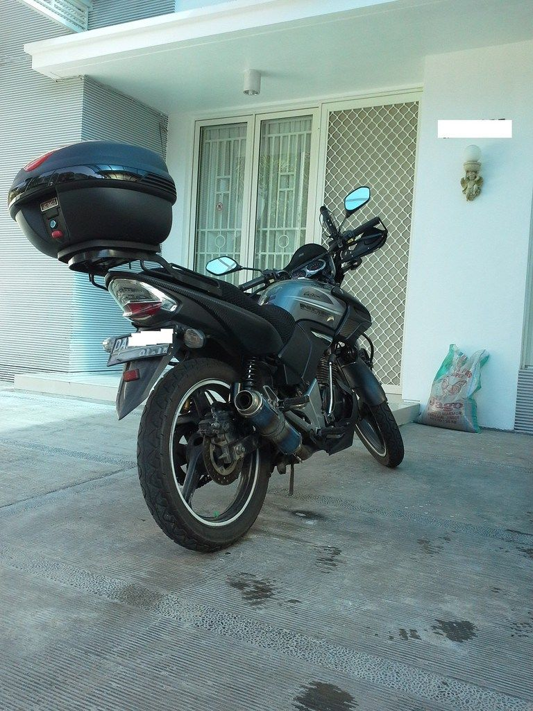 Modifikasi Motor Honda Tiger Simple Untuk Touring Modifikasi