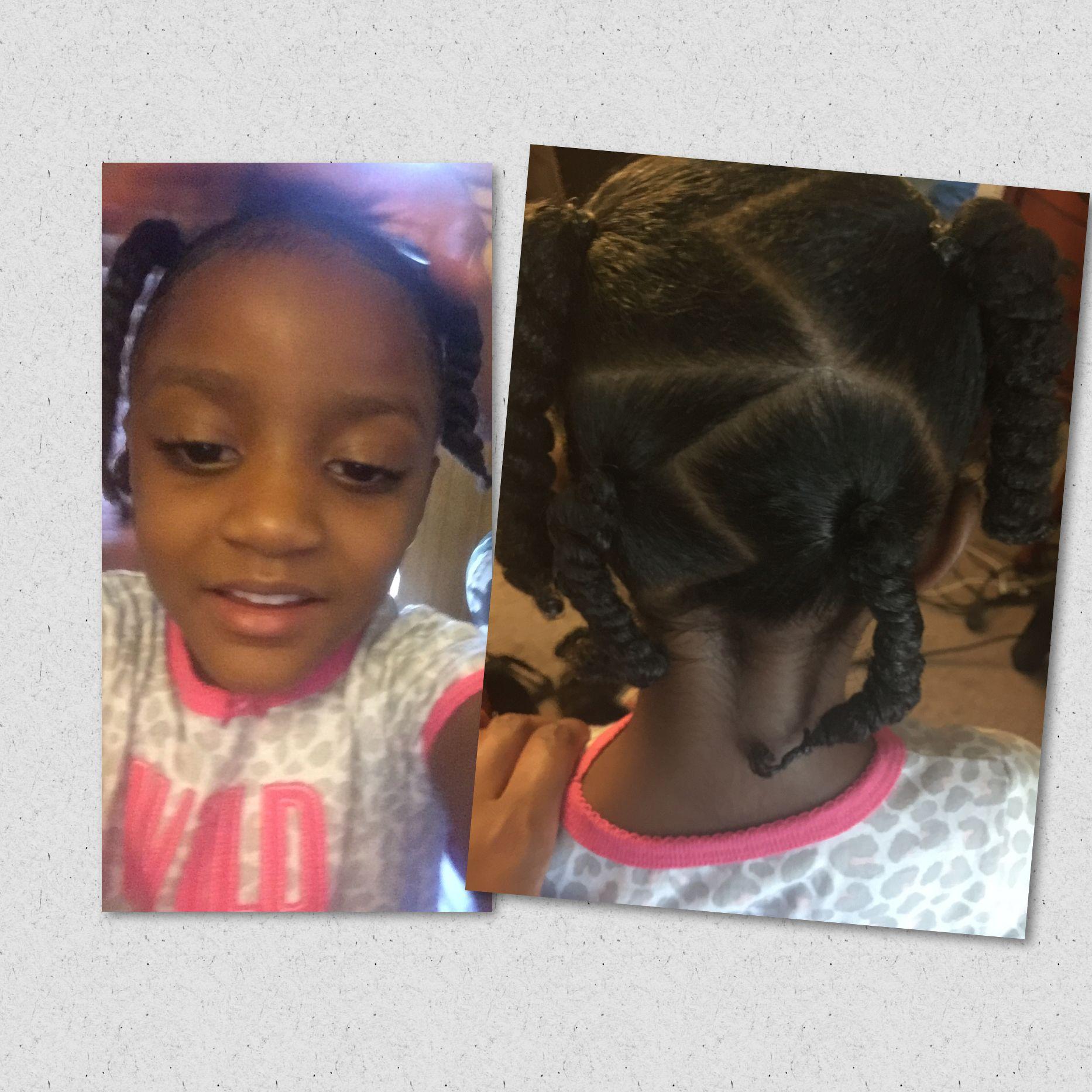 ponytail #ponytails #african-american #black #toddler #hair #curly