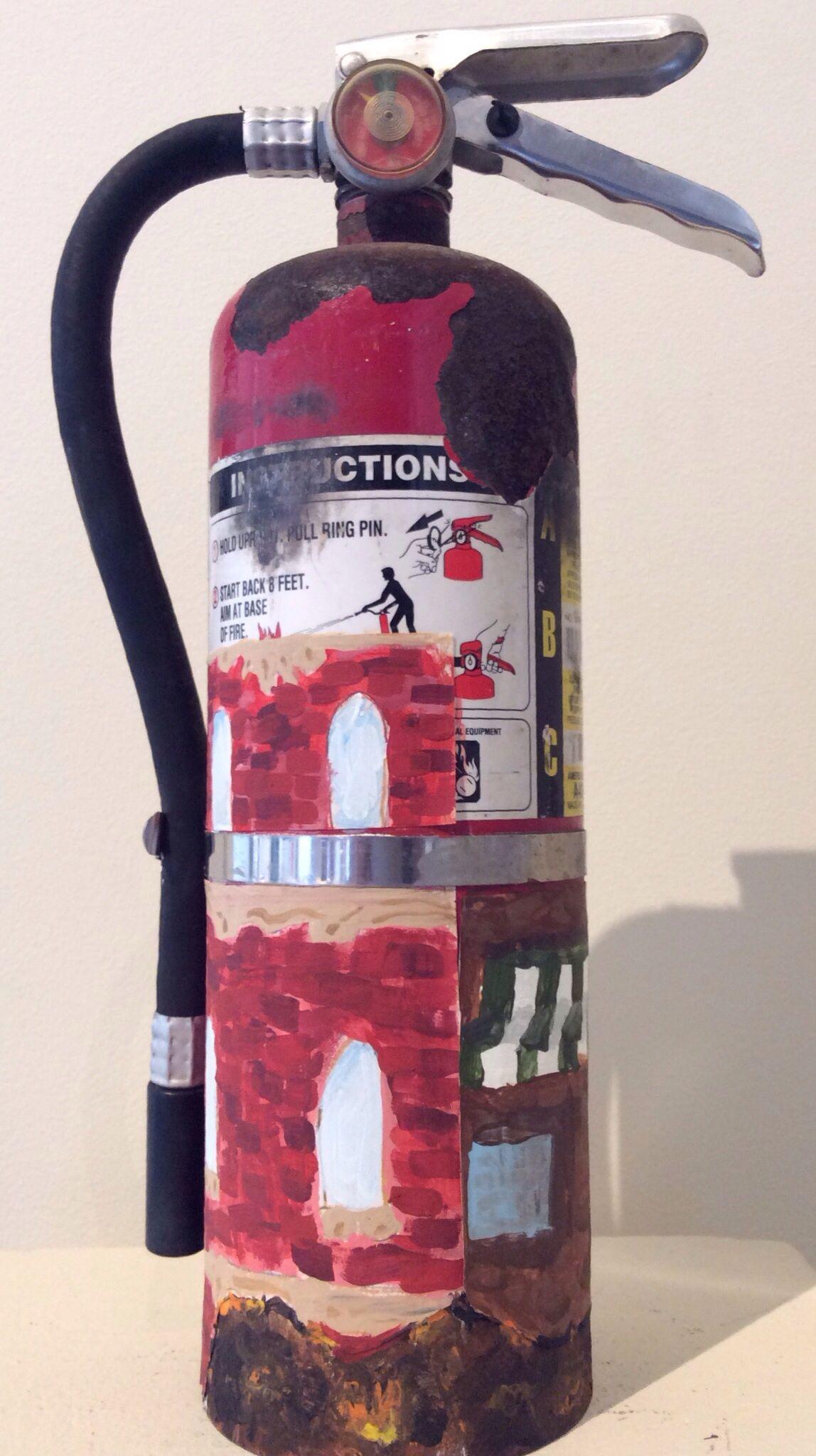 "Olivia Hermosilla ""Smoulder"" Fire extinguisher, Fire"
