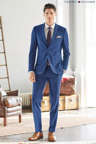 Buy Tommy Hilfiger Blue Suit from the Next UK online shop | Audaz ...