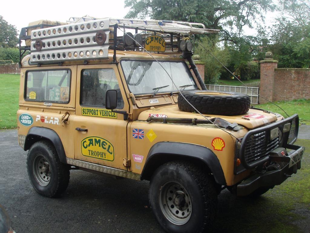 1986 land rover 1986 camel trophy defender 90 replica