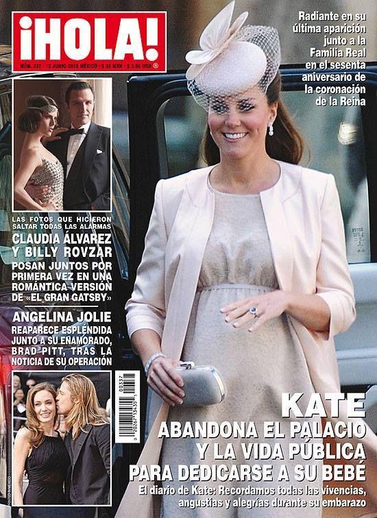 Hola! Magazine [Mexico] (12 June 2013)