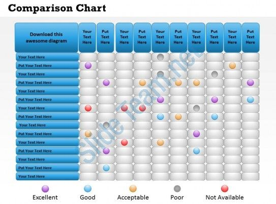 0314 comparison chart of economic situation Slide01 - comparison chart templates