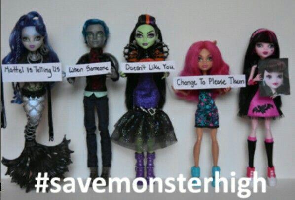 #savemonsterhigh