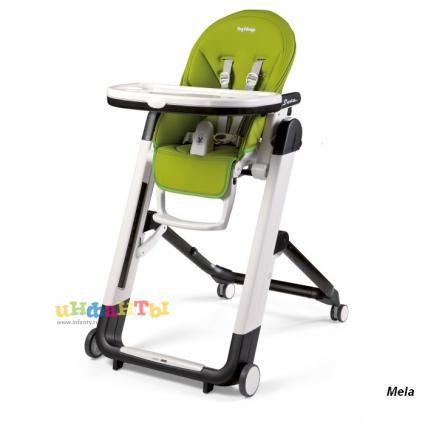 Зеленый или оранжевый стульчик для кормления от 0-3 лет. 9900 в Детском мире в Невском центре.