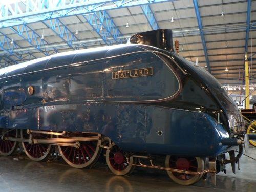 mallard at the national railway museum york