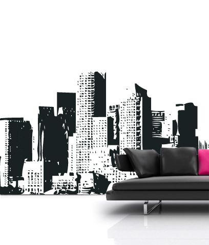 City Wall Decals What Are Wall Sticker Decals Wall Stickers - Wall decals city