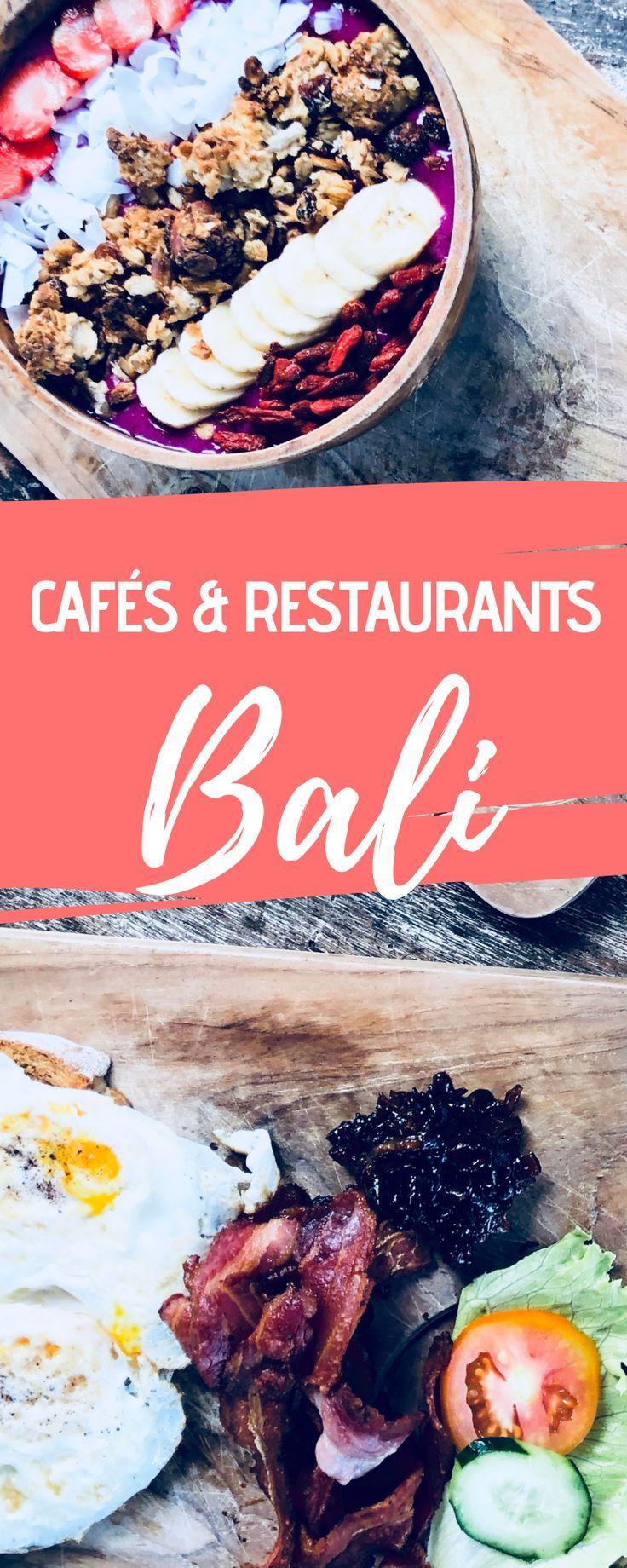 Bali Food Guide Die besten Cafés & Restaurants in Canggu