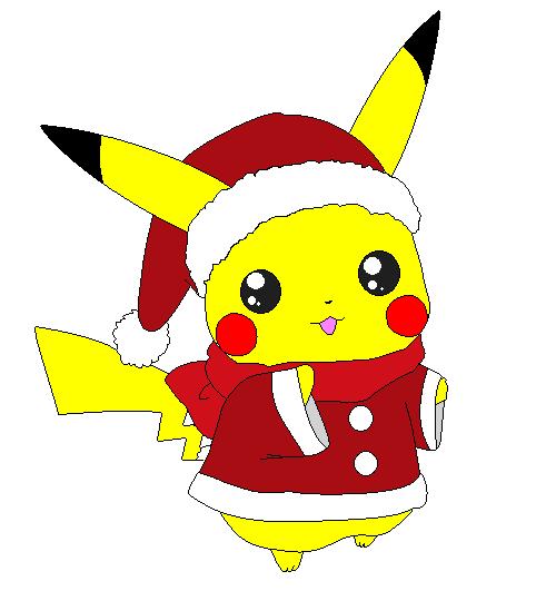 Christmas Pikachu.Pikachu Christmas Art Pikachu Christmas By Kuro Kai08