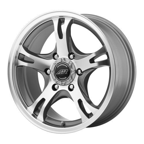 American Racing Ar898 Dark Silver Wheel With Machined Face 17 8 6 5 5 Car Wheels American Racing Car Wheels Wheels For Sale
