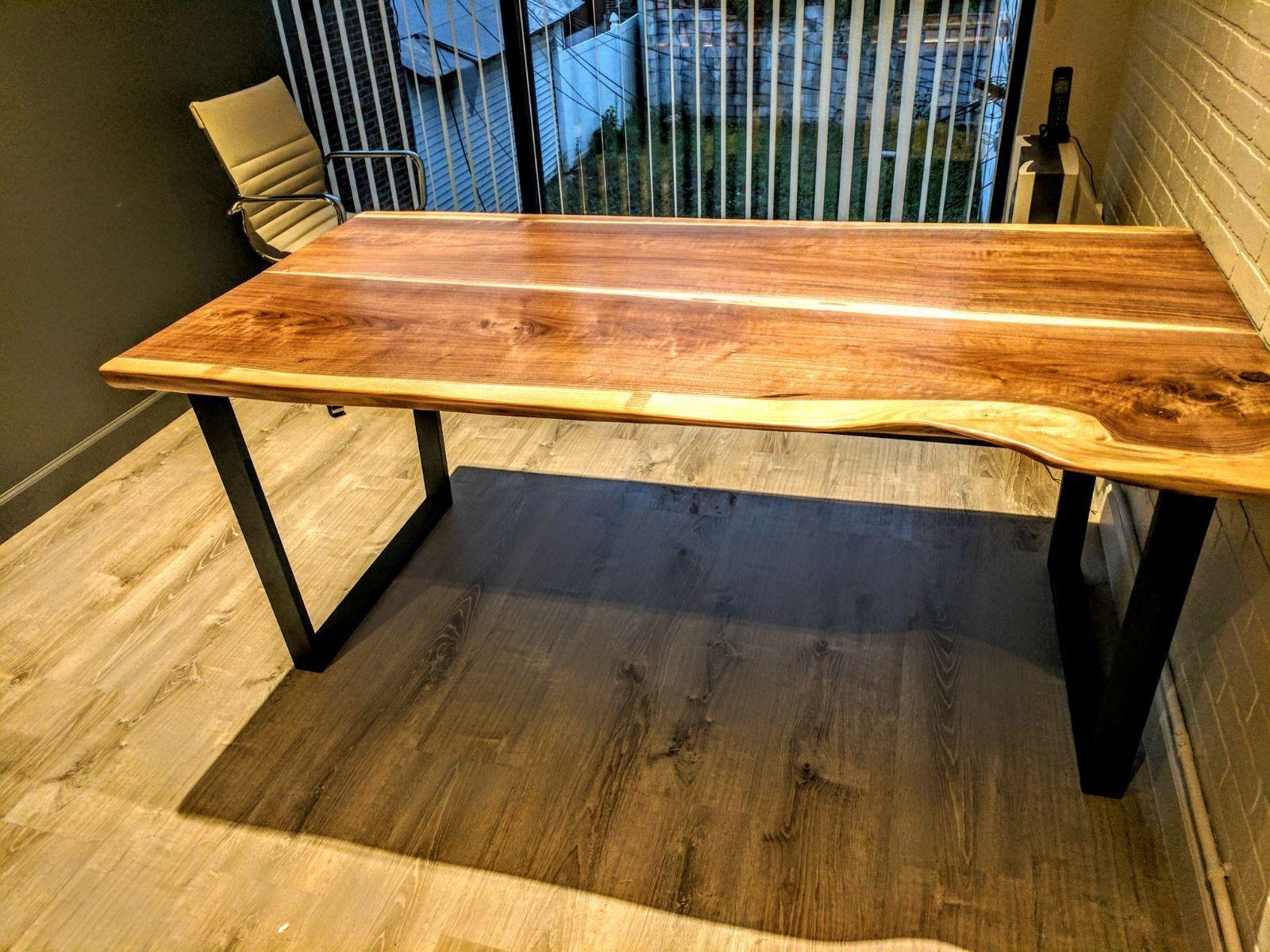 Custom Wood Tables Desk Tops New Jersey Nyc Wood Touch Llc Live Edge Tables Barn Wood Pergolas Beams And Mantels New Jersey Live Edge Wood Table Wooden Slab