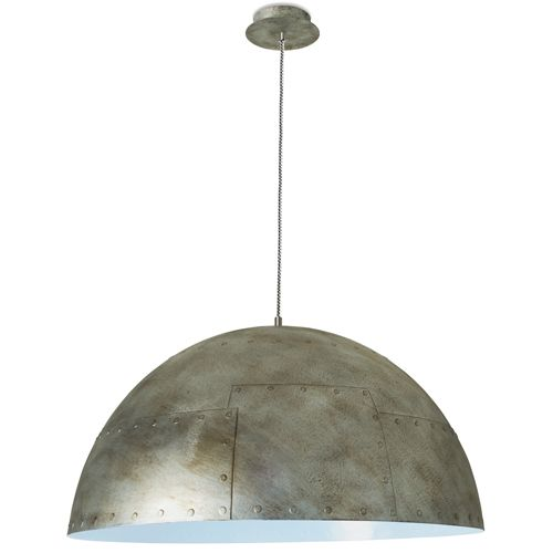 The Neo Silver Blue Small Ceiling Light Pendant From LEDS