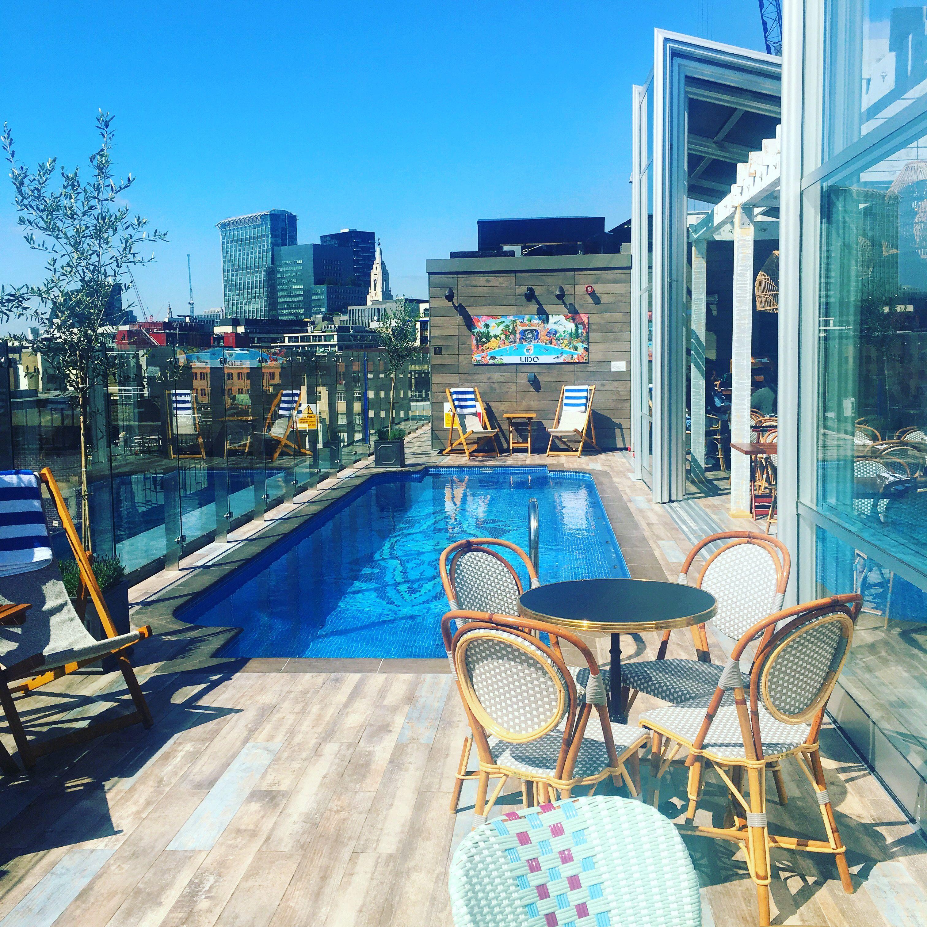 Lido The Curtain Hotel In London Via Whatyoufancy Instagram Lido Rooftop London