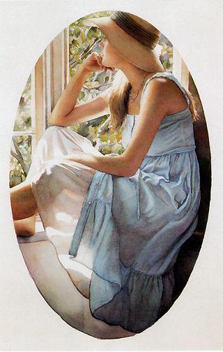 Steve Hanks Paintings Leslie Levy