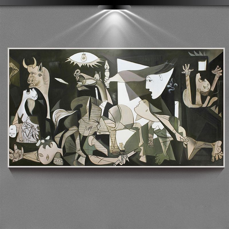"""essay on guernica by pablo picasso The essay discusses one of the most famous paintings done by pablo picasso he was known as the """"father of modern art"""" and the guernica was the most known."""