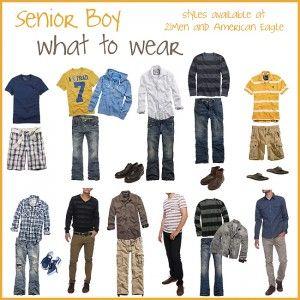 senior guy: what to wear