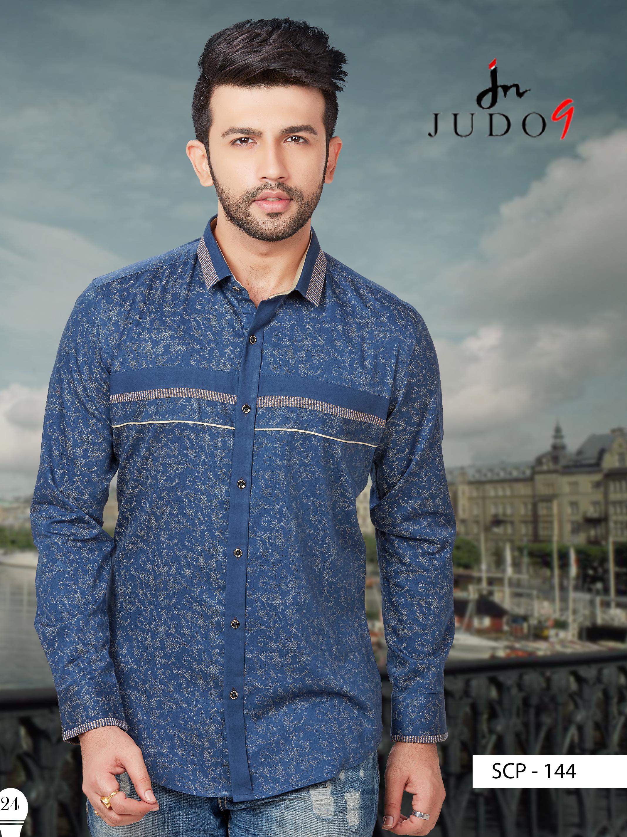 judo9 #blue #shirt #mens #wear #fashion #clothing #party_wear ...