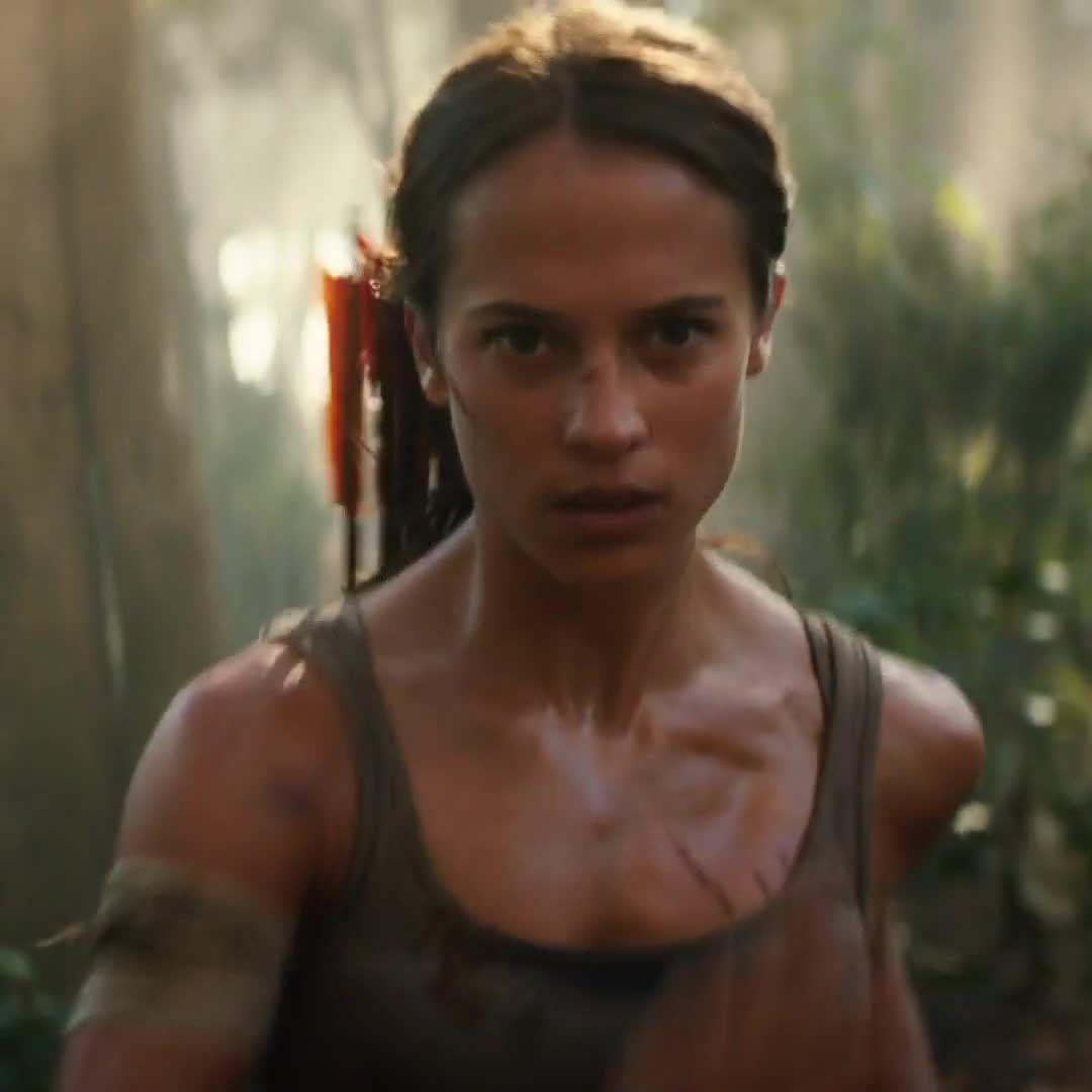 "Alicia Vikander Tomb Raider 2018 Movie Full Hd Wallpaper: Tomb Raider (@tombraider): ""The #TombRaider Movie Trailer"