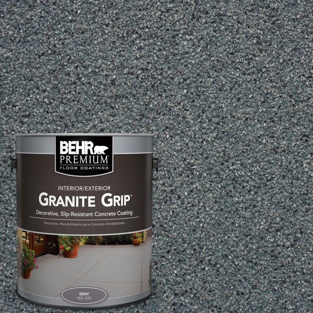 BEHR Premium 1 gal GG02 Stone Valley Decorative Concrete Floor