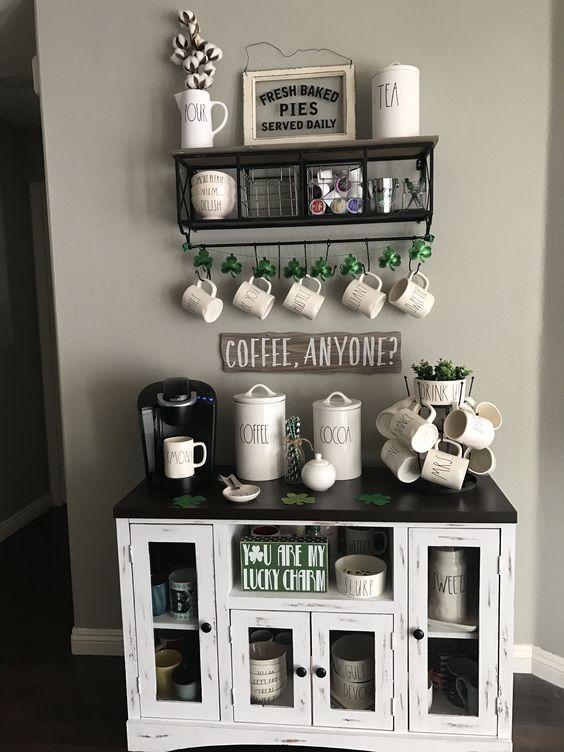 43 EXQUISITE FAMILY SMALL COFFEE BAR BILDER - Seite 27 von 43 #coffeebarideas