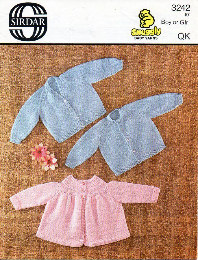 510f7b26e baby cardigans matinee coat knitting pattern pdf QK matinee jacket ...