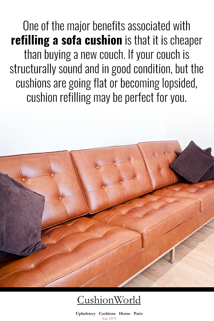 Refilling A Sofa Cushion