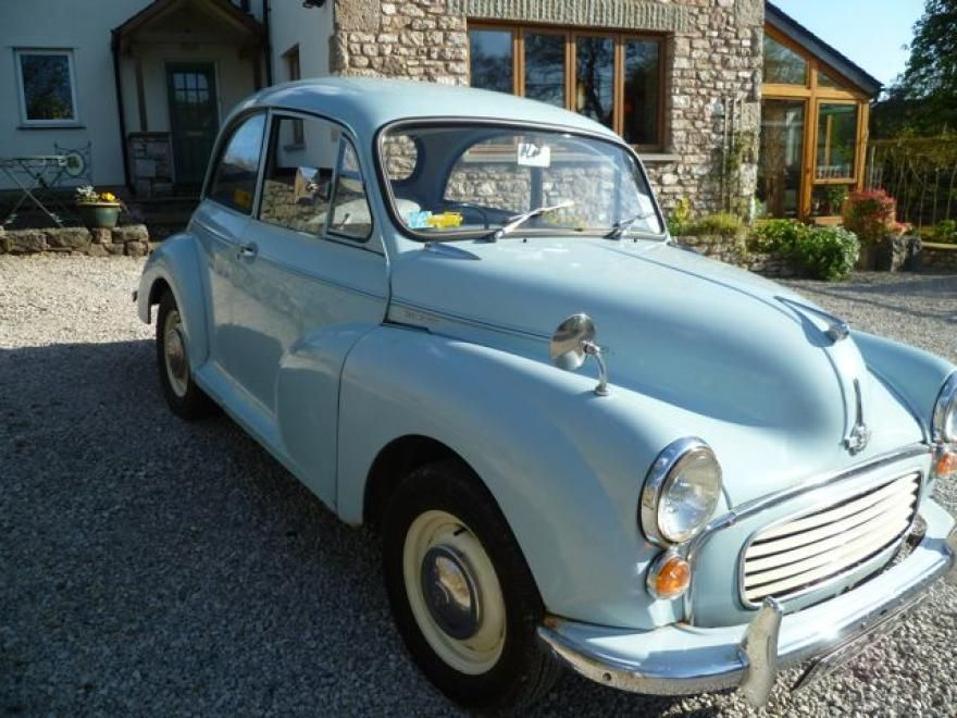Morris 1000 1971 Blue Light For Sale, (Car Advert 289859), £3000 ...