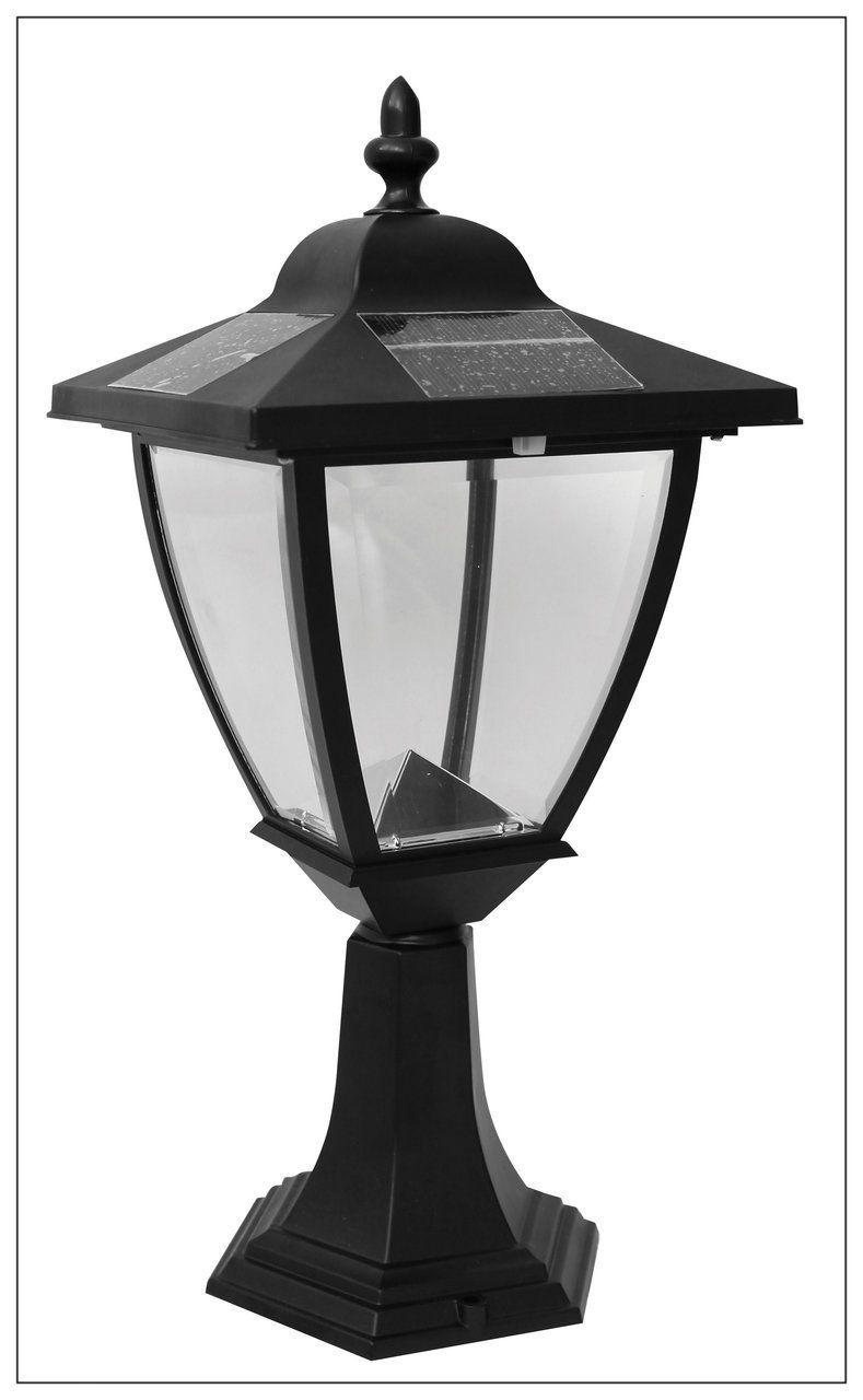 Solar Carriage Lantern For Posts Columns Cly Caps Elegante