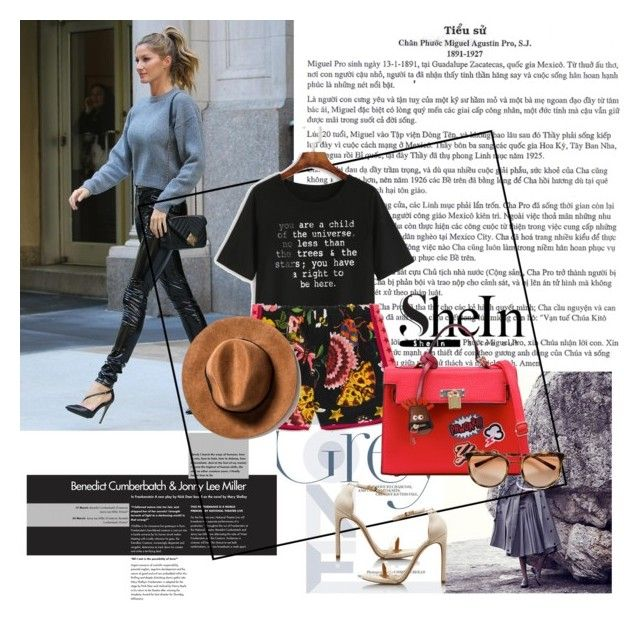 """""""Gisele"""" by lipstick15 ❤ liked on Polyvore featuring WithChic and Gucci"""
