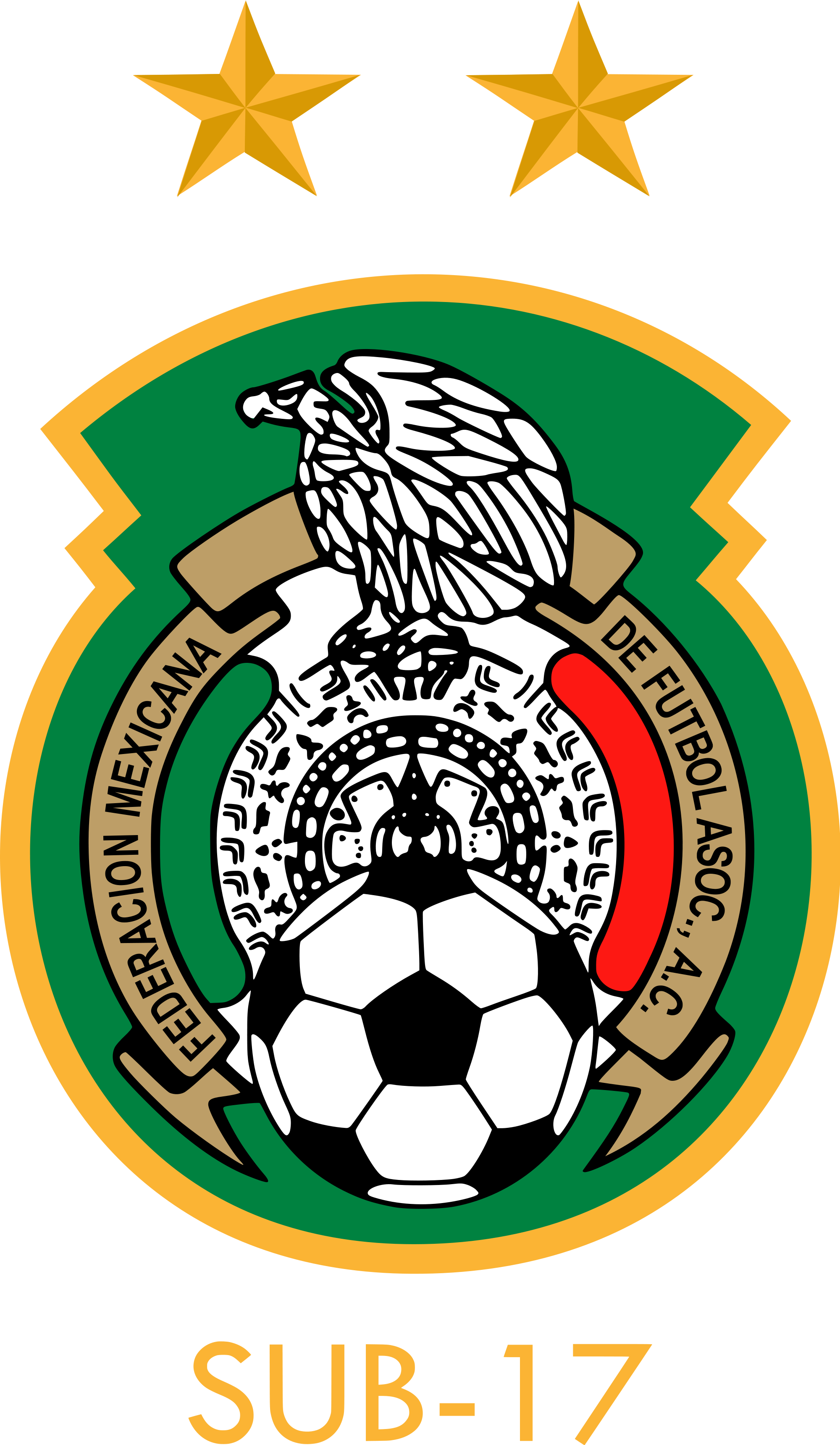 Mexico National Football Team U17 Wallpaper, Escudos de