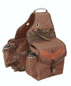 Tough 1 Multi Pocket Saddle Bag Barrel Reins Horseloverz Saddle Bags Horse Saddle Bags Horse Riding Clothes