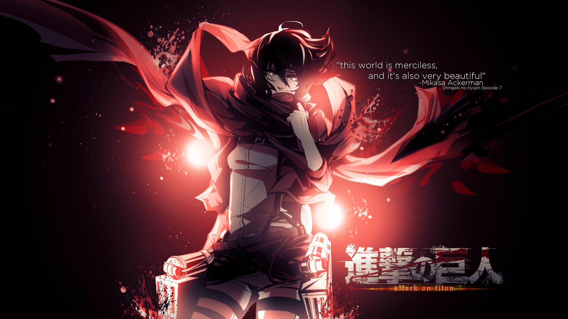 My Fav Character From Attack On Titian Attack On Titan Anime Wallpaper Cool Anime Wallpapers