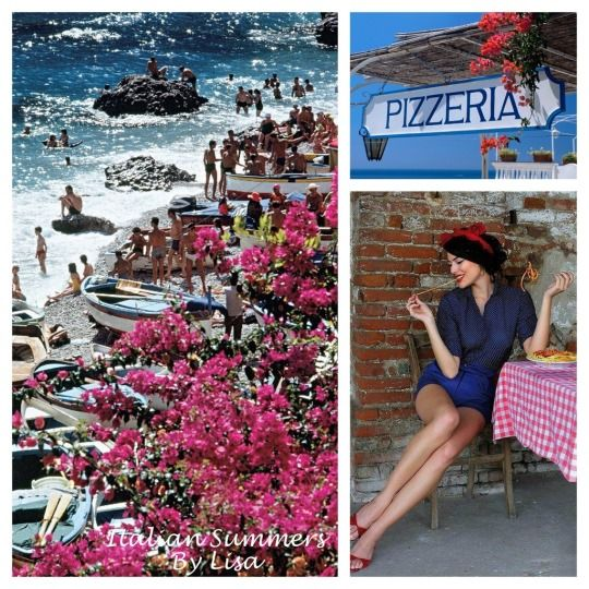 Italian Summers By Lisa Capri  Creative work, Lisa, Italian Summers Photocredits unknown