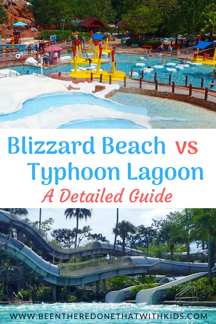 How To Choose Between Blizzard Beach Typhoon Lagoon Orlando Fl