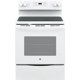 Ge Smooth Surface Freestanding 5 3 Cu Ft Self Cleaning Electric
