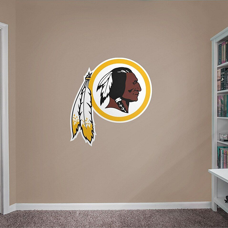 Fathead NFL Washington Redskins Logo Giant Wall Decal