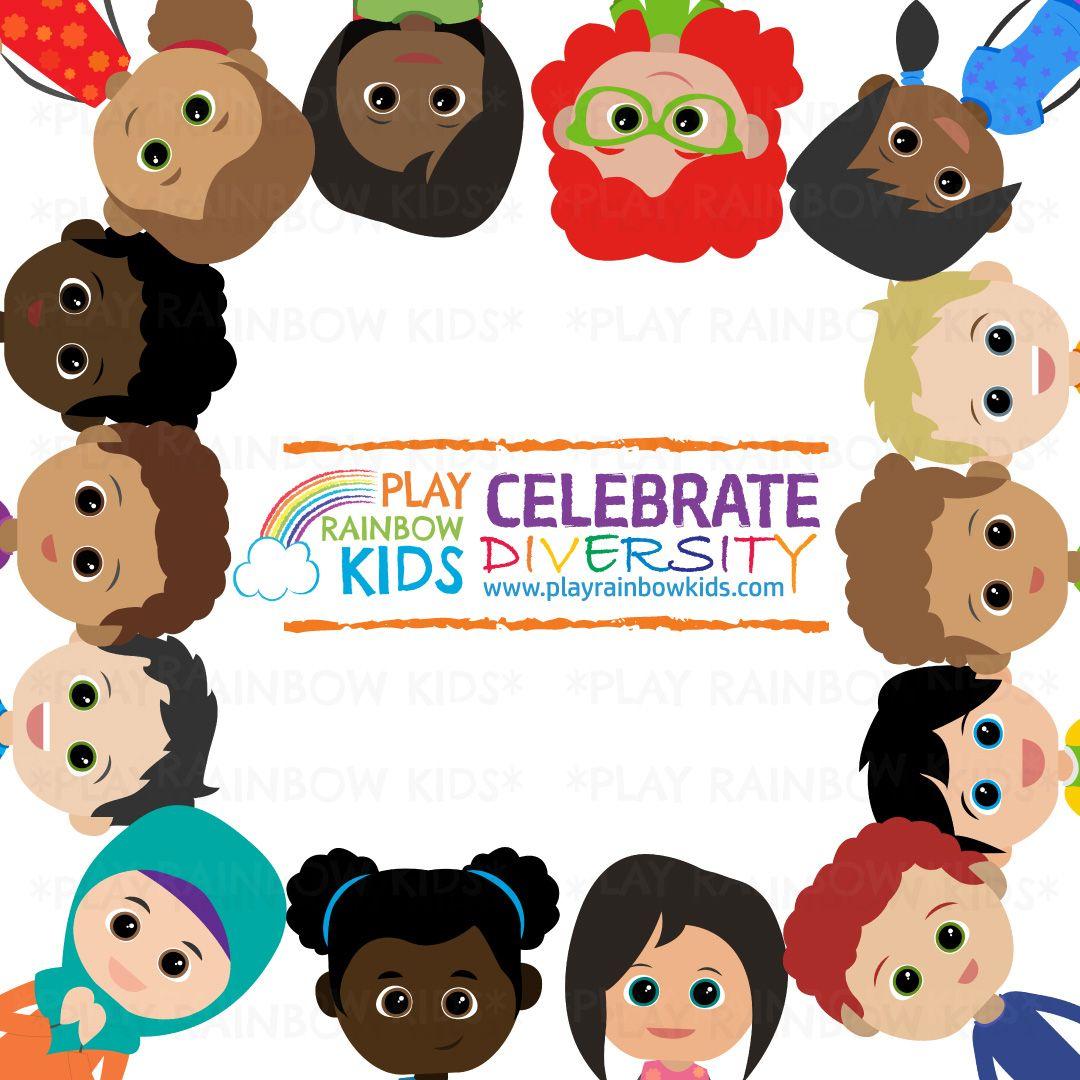 Kids Diversity Clipart Education clipart, Clip art, Kids